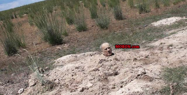 Man Found Buried To His Head In Nevada Desert | MORON