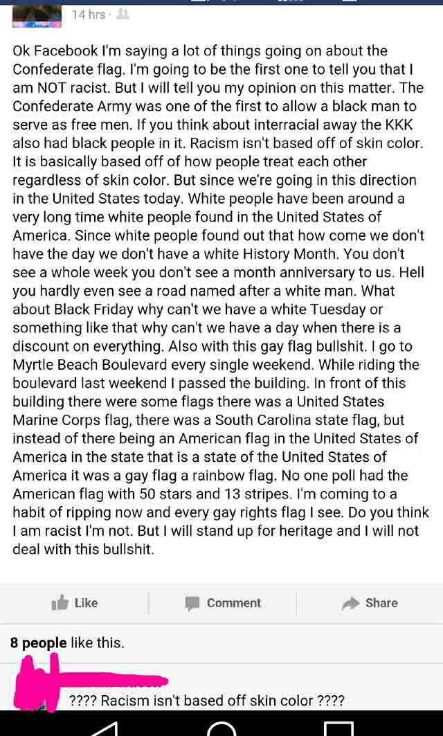 facebook-racism
